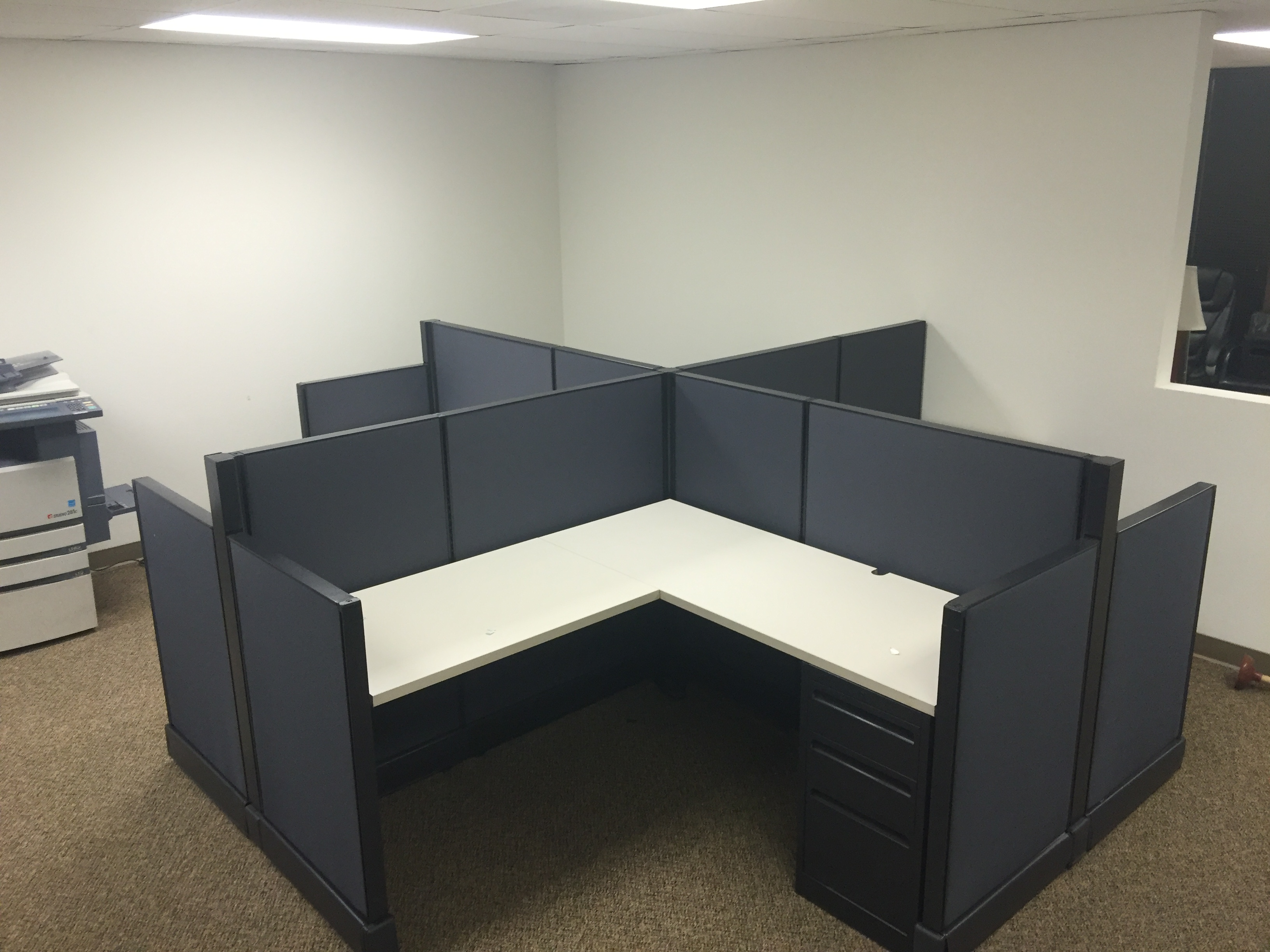h u0026 v custom office cubicles - Office Cubicles